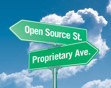 open source vs